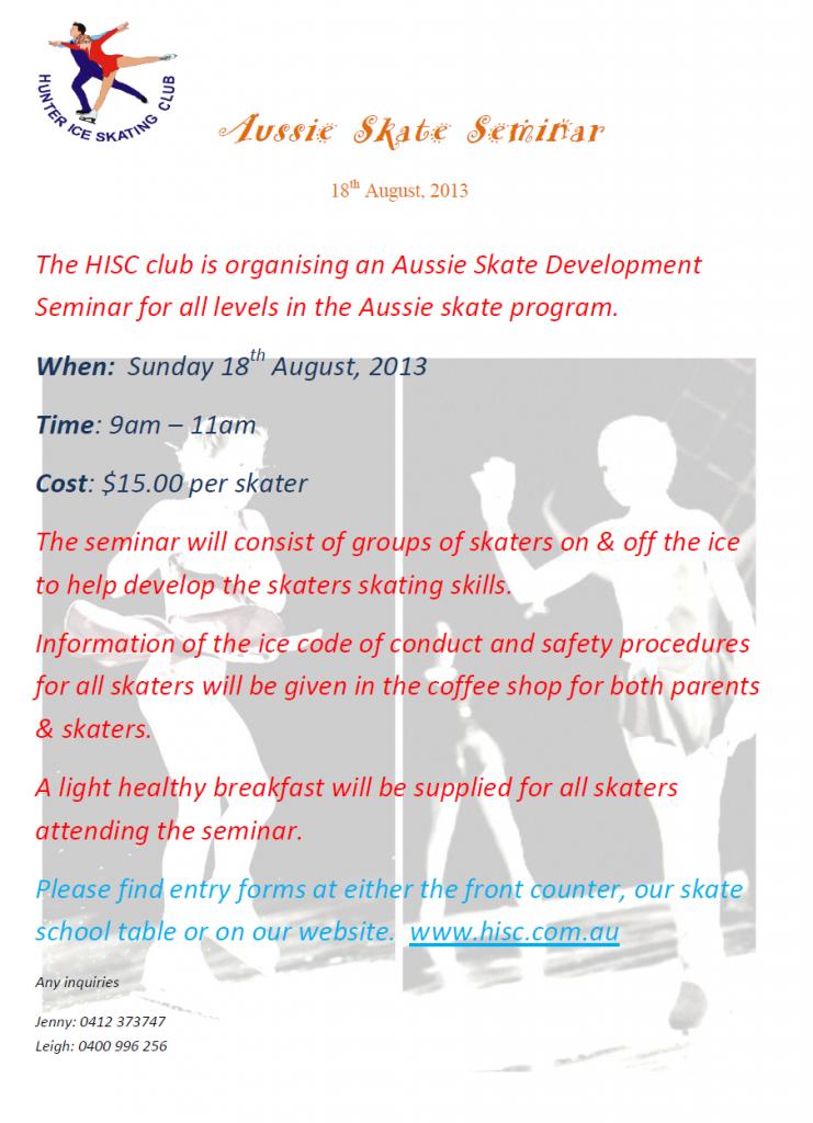 Aussie Skate Seminar