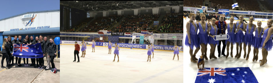 Ice Reflections - Synchro